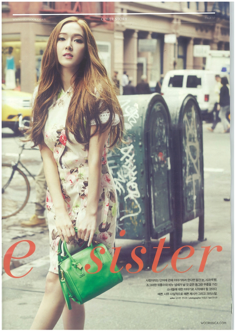 [140621] Jessica (SNSD) & Krystal (F(x)) @ 1st Look Magazine Vol.70 Issue July 2014 (Scan) by Woorissica [3]