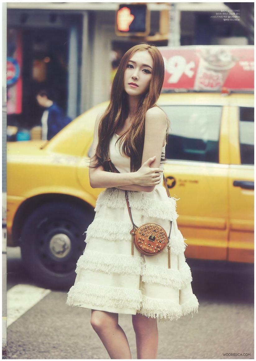 [140621] Jessica (SNSD) & Krystal (F(x)) @ 1st Look Magazine Vol.70 Issue July 2014 (Scan) by Woorissica [5]