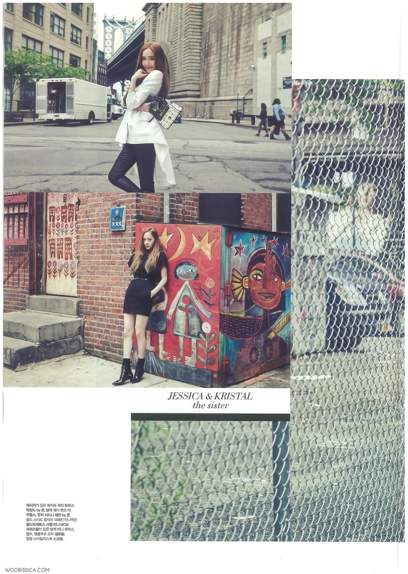 [140621] Jessica (SNSD) & Krystal (F(x)) @ 1st Look Magazine Vol.70 Issue July 2014 (Scan) by Woorissica [8]