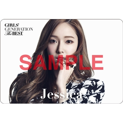 [140621] Jessica (SNSD) Preview for 'The Best' Music Cards