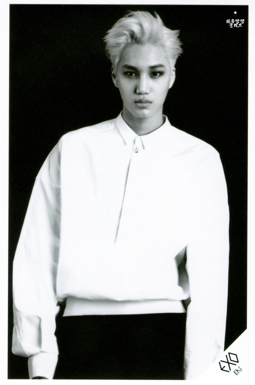 [140621] Kai (EXO) OVERDOSE SD CARD SET B POP-UP STORE (Scan) by OliV_xoxo