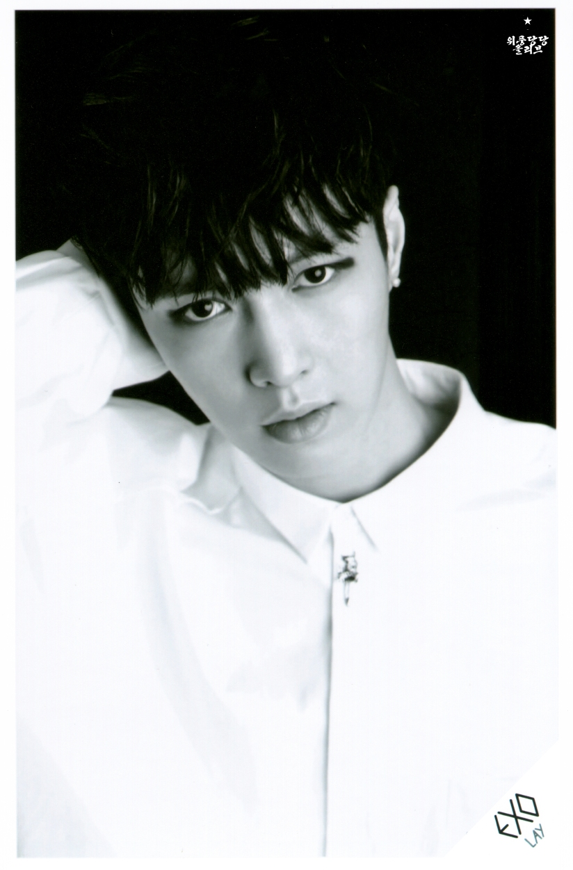 [140621] Lay (EXO) OVERDOSE SD CARD SET B POP-UP STORE (Scan) by OliV_xoxo