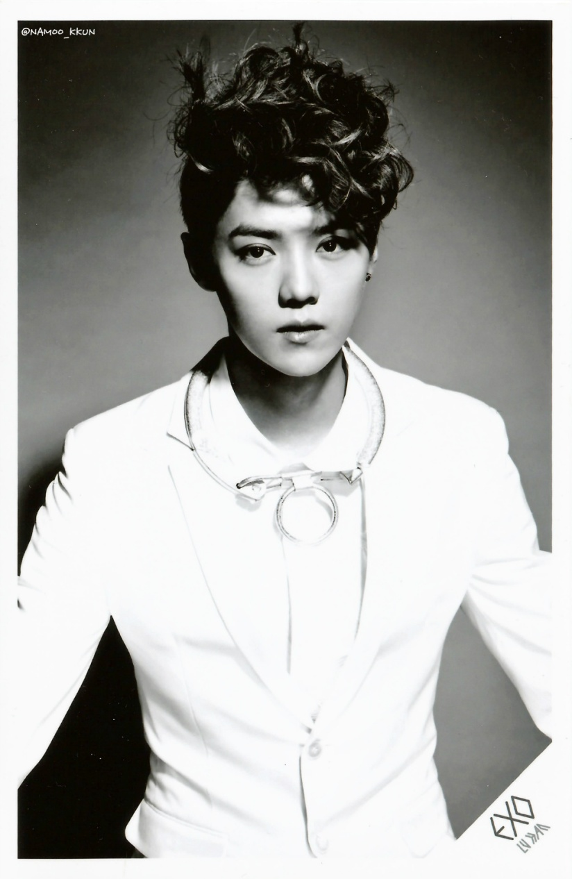 [140621] Luhan (EXO) OVERDOSE SD CARD SET A POP-UP STORE (Scan) by NAMOO_KKUN