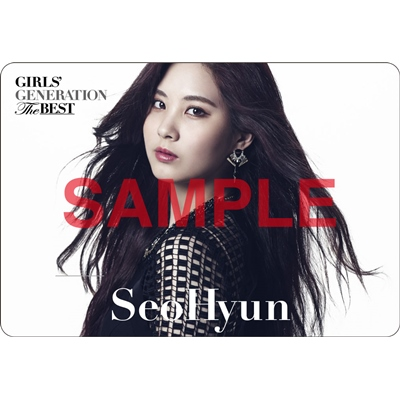 [140621] Seohyun (SNSD) Preview for 'The Best' Music Cards