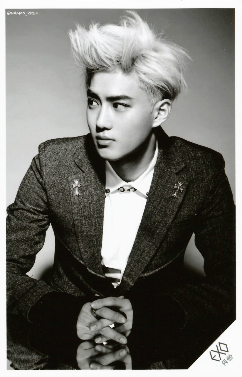 [140621] Suho (EXO) OVERDOSE SD CARD SET A POP-UP STORE (Scan) by NAMOO_KKUN