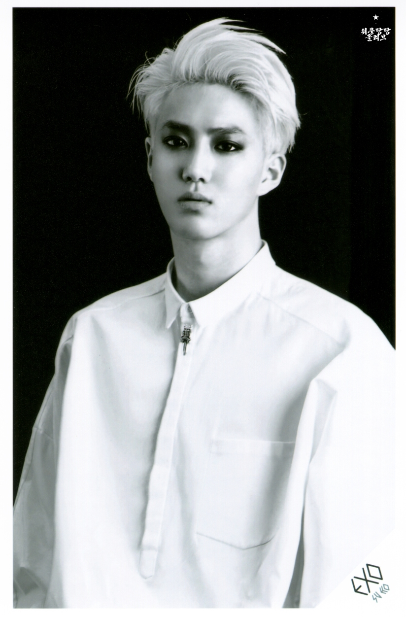 [140621] Suho (EXO) OVERDOSE SD CARD SET B POP-UP STORE (Scan) by OliV_xoxo.