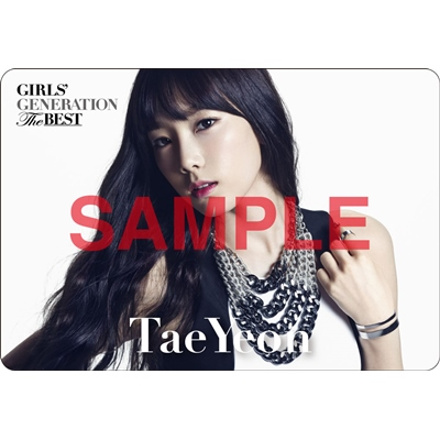 [140621] Taeyeon (SNSD) Preview for 'The Best' Music Cards
