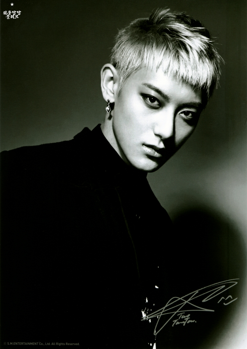[140621] Tao (EXO) OVERDOSE A4인화사진 @ POP-UP STORE (Scan) by OliV_xoxo [2]