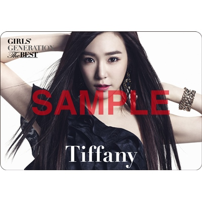 [140621] Tiffany (SNSD) Preview for 'The Best' Music Cards