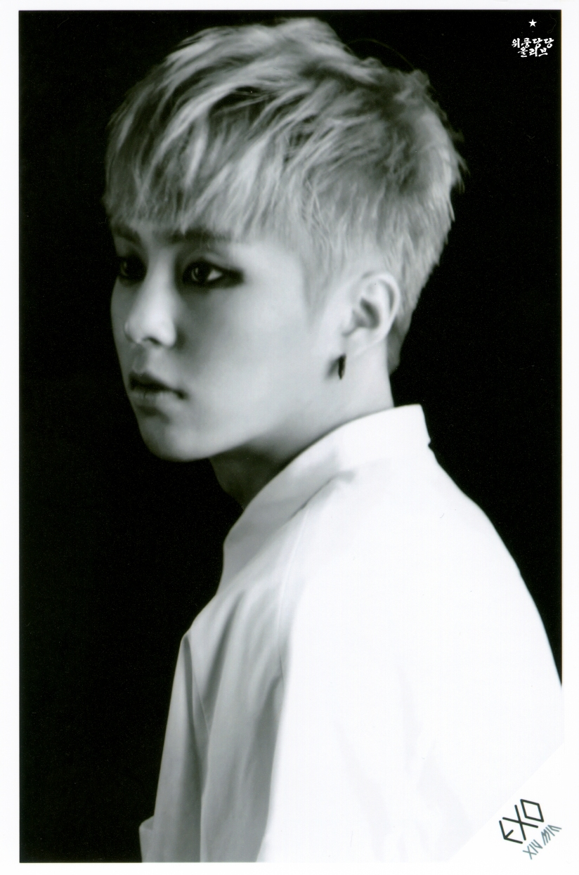 [140621] Xiumin (EXO) OVERDOSE SD CARD SET B POP-UP STORE (Scan) by OliV_xoxo