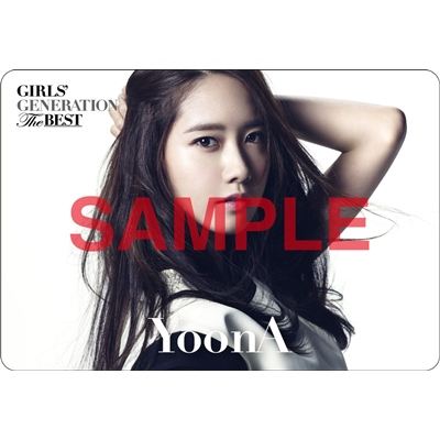 [140621] Yoona (SNSD) Preview for 'The Best' Music Cards
