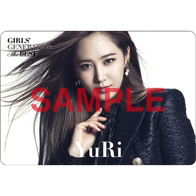 [140621] Yuri (SNSD) Preview for 'The Best' Music Cards