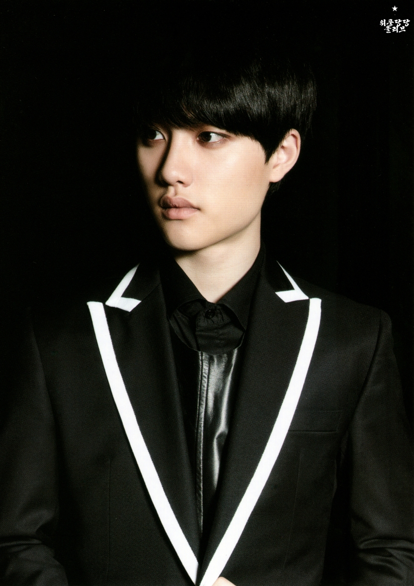 [140622] D.O (EXO) New Picture for Overdose Postcard @ POP-UP Store (Scan) by OliV_xoxo