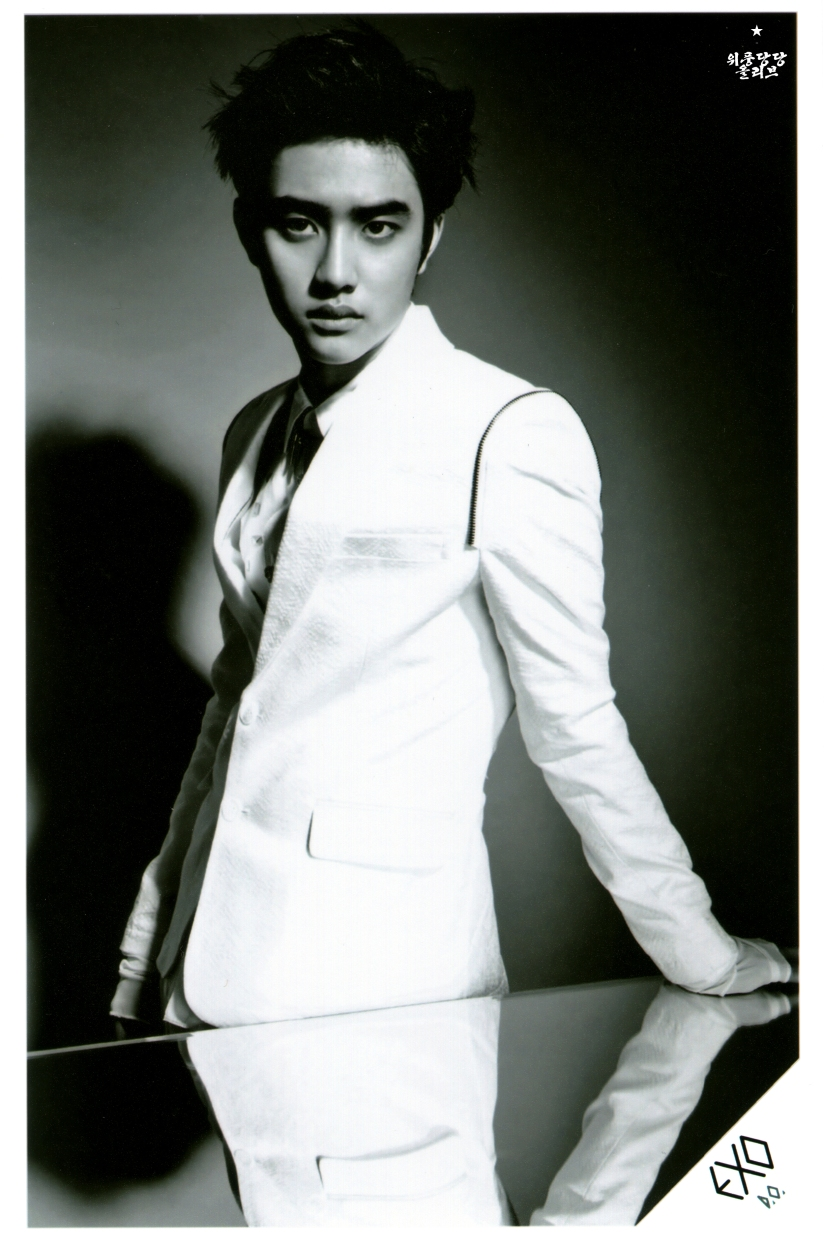 [140622] D.O (EXO) New Picture for Overdose SD CARD SET A @ POP-UP Store (Scan) by OliV_xoxo