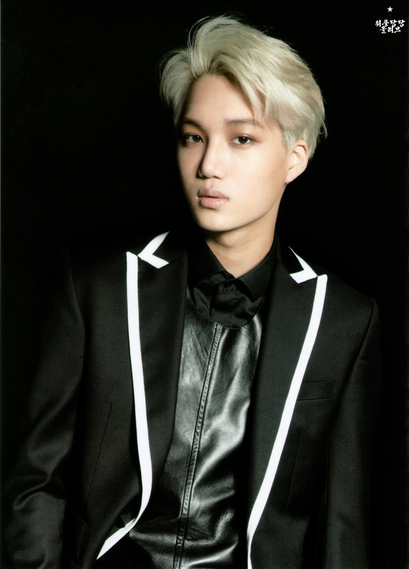 [140622] Kai (EXO) New Picture for Overdose Postcard @ POP-UP Store (Scan) by OliV_xoxo
