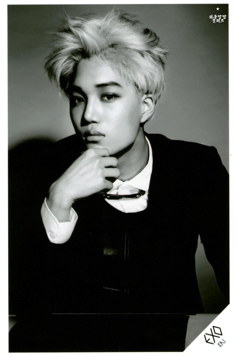 [140622] Kai (EXO) New Picture for Overdose SD CARD SET A @ POP-UP Store (Scan) by OliV_xoxo