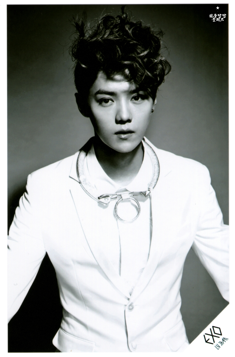 [140622] Luhan (EXO) New Picture for Overdose SD CARD SET A @ POP-UP Store (Scan) by OliV_xoxo