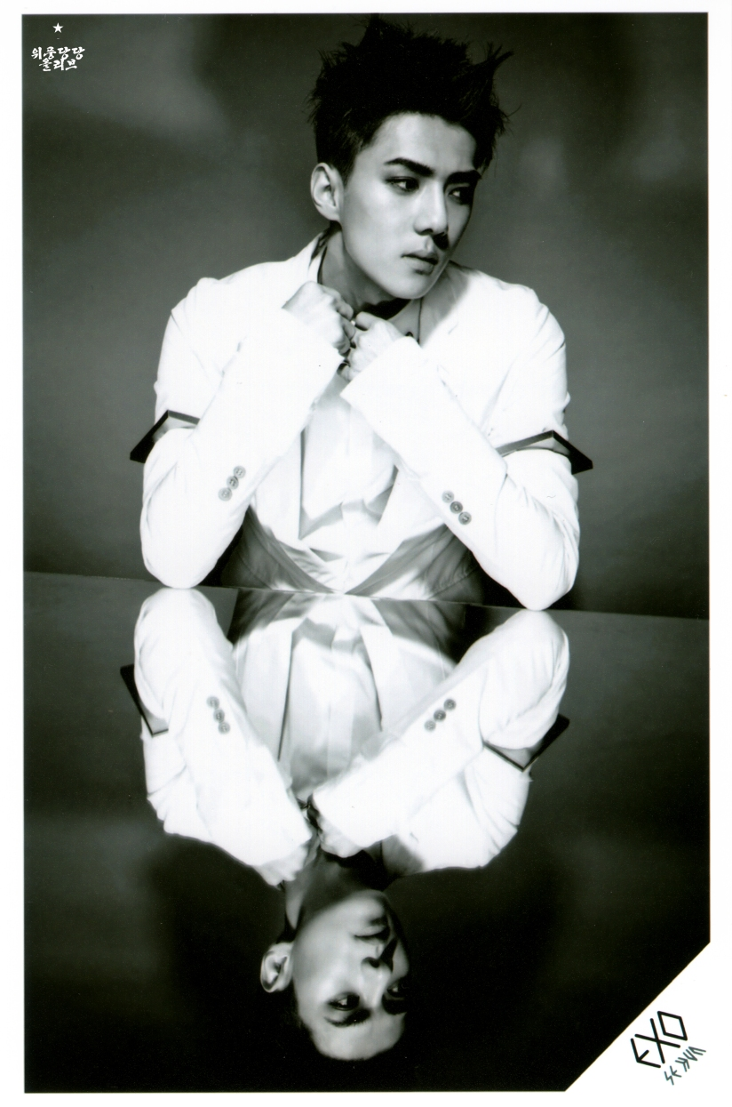 [140622] Sehun (EXO) New Picture for Overdose SD CARD SET A @ POP-UP Store (Scan) by OliV_xoxo