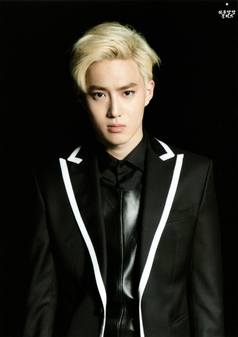 [140622] Suho (EXO) New Picture for Overdose Postcard @ POP-UP Store (Scan) by OliV_xoxo