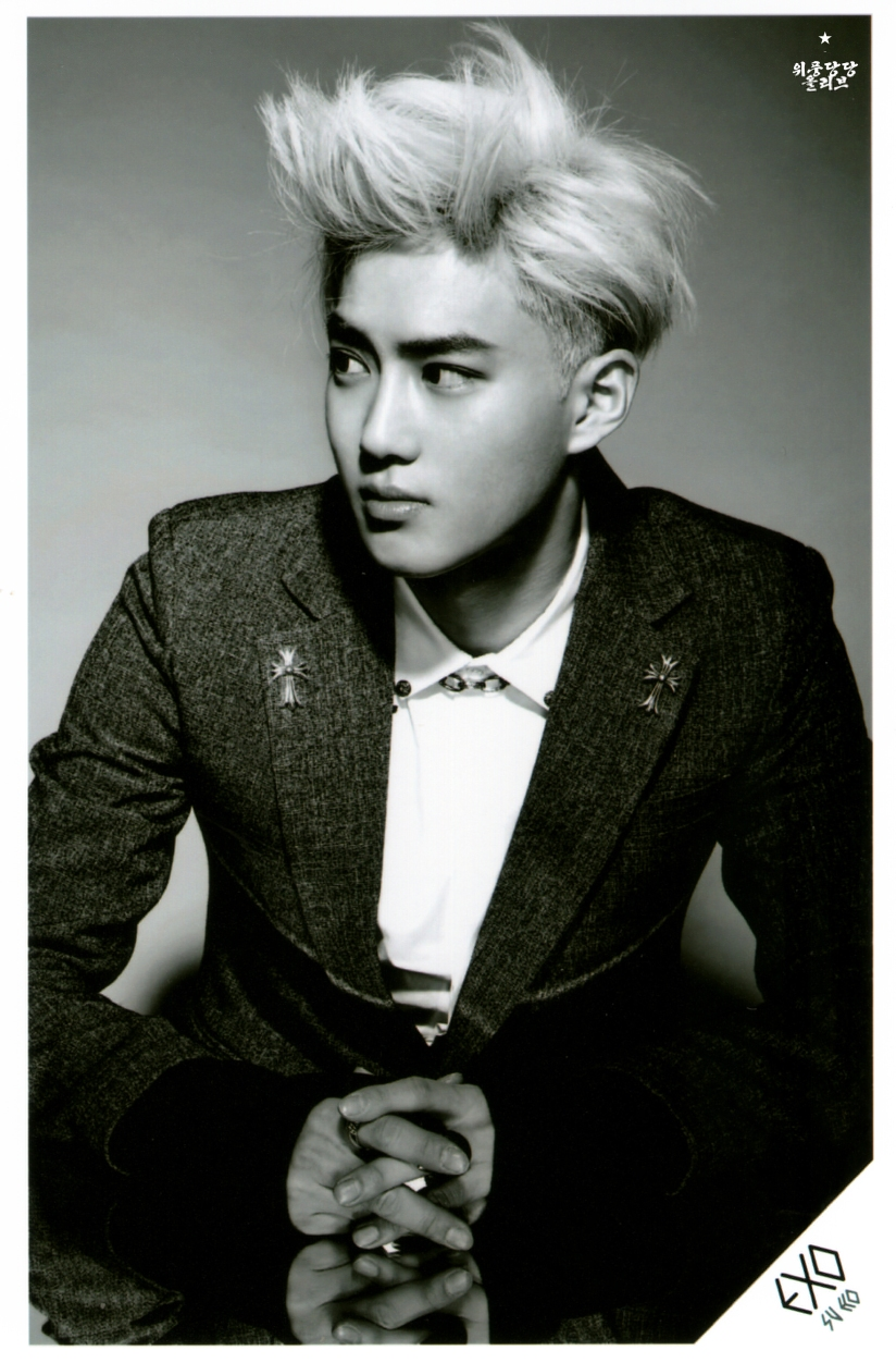 [140622] Suho (EXO) New Picture for Overdose SD CARD SET A @ POP-UP Store (Scan) by OliV_xoxo