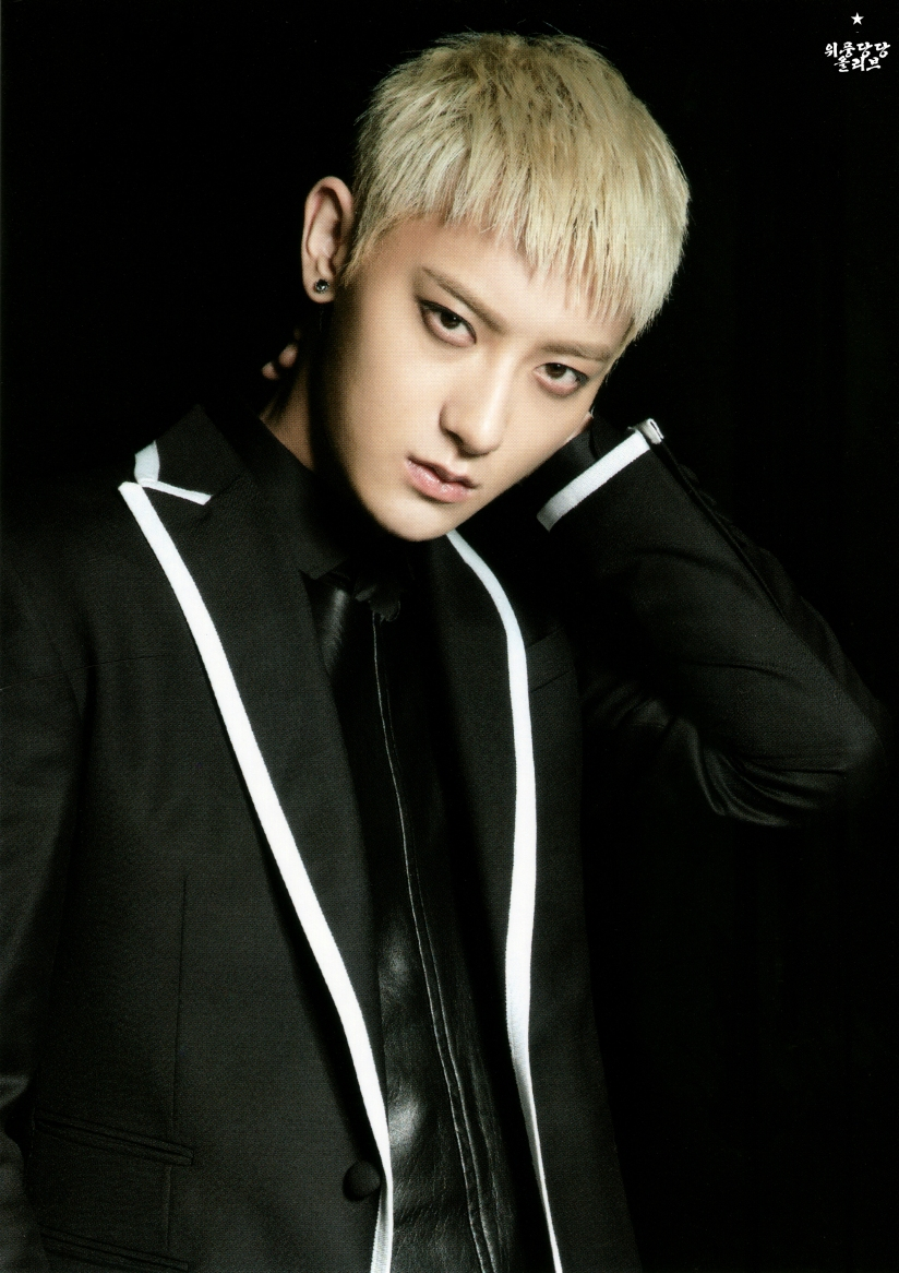 [140622] Tao (EXO) New Picture for Overdose Postcard @ POP-UP Store (Scan) by OliV_xoxo