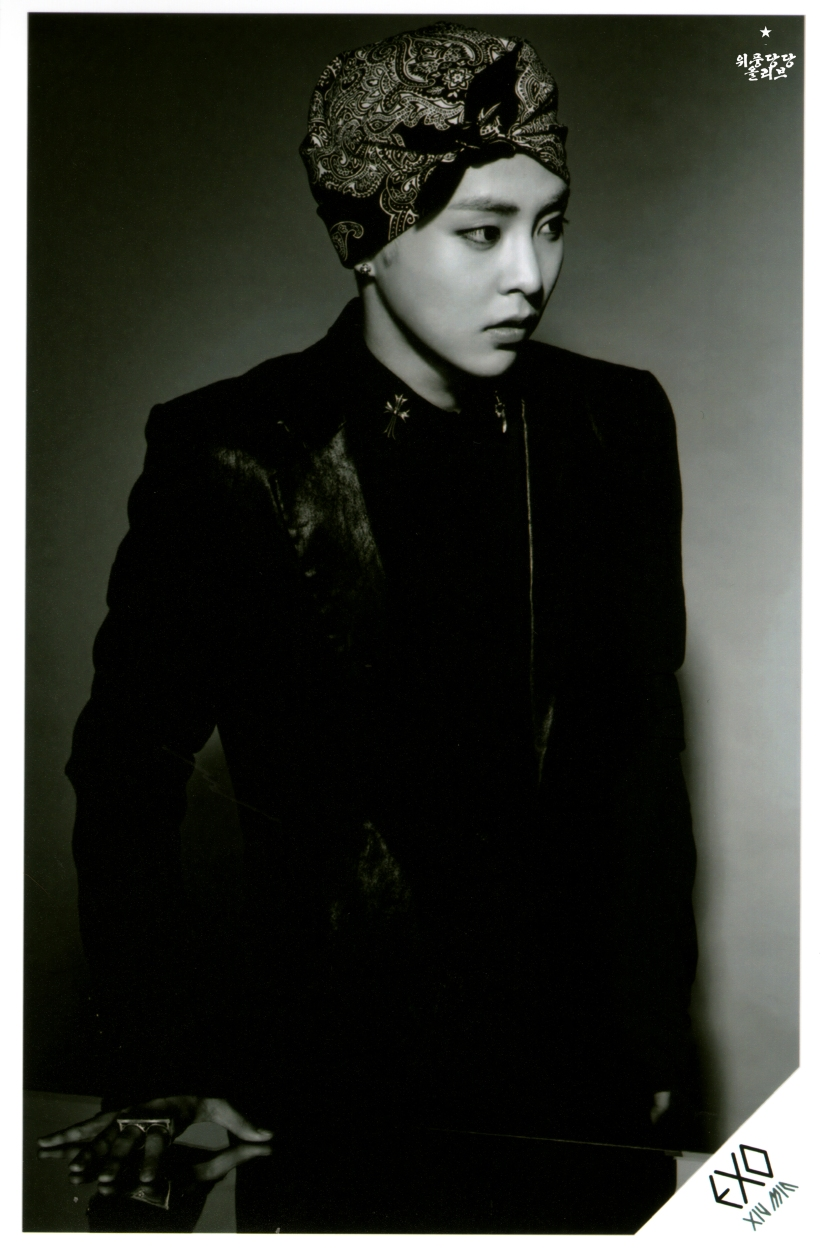 [140622] Xiumin (EXO) New Picture for Overdose SD CARD SET A @ POP-UP Store (Scan) by OliV_xoxo