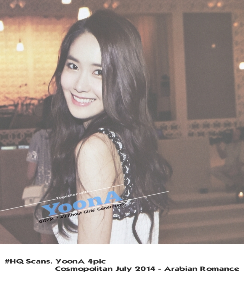 [140622] Yoona (SNSD) @ Consmopolitan Magazine Issue July 2014 (Scan) by GGPM [1]