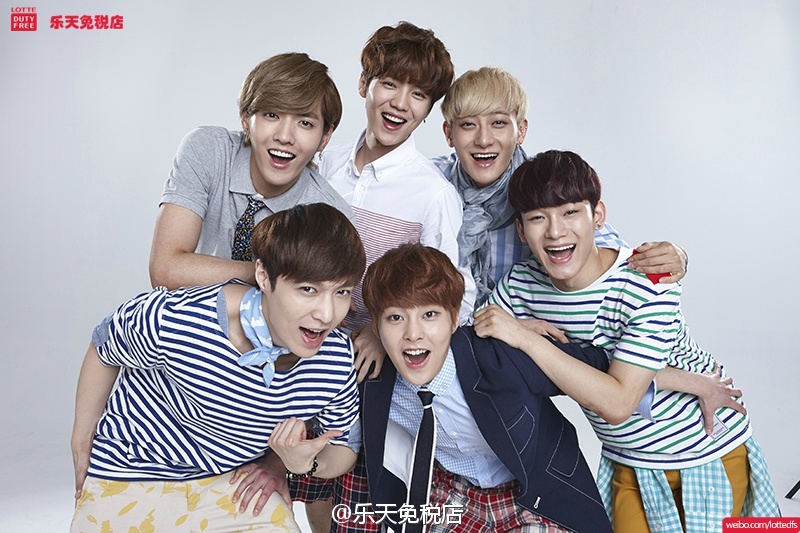 [140624] EXO-M New Picture for Lotte Duty Free CF [2]