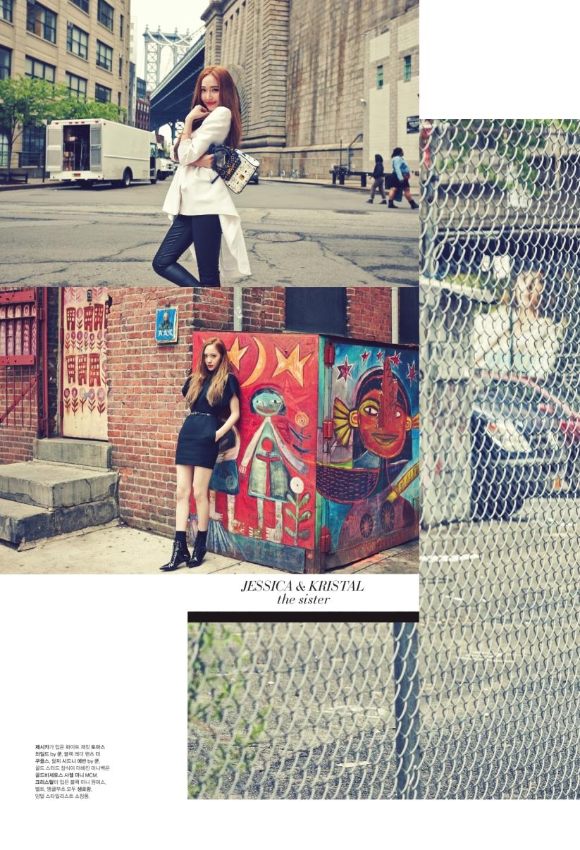[140624] Jessica (SNSD) & Krystal (F(x)) @ 1st Look Magazine Vol.70 by Firstlook [10]