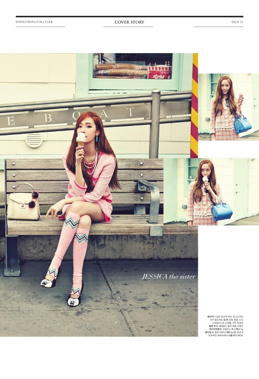 [140624] Jessica (SNSD) & Krystal (F(x)) @ 1st Look Magazine Vol.70 by Firstlook [9]