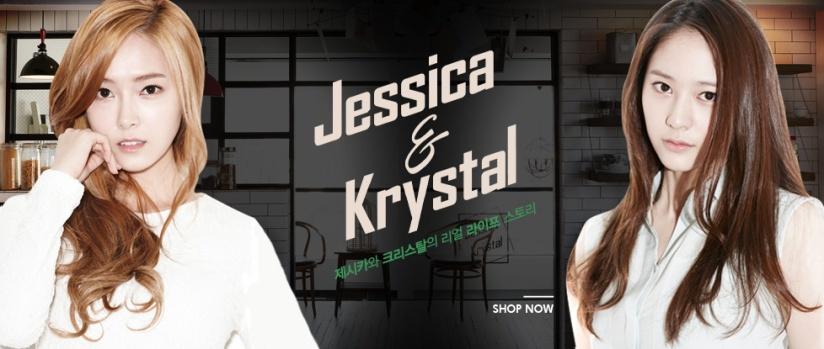 [140624] Jessica (SNSD) & Krystal (F(x)) for Jessica& Krystal by Firstlook [1]