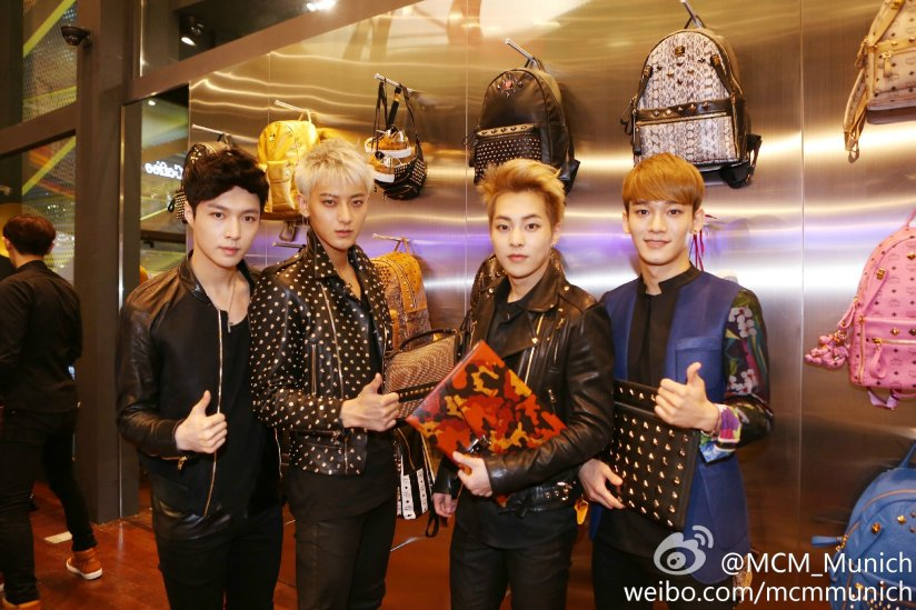 [140626] EXO @ MCM Flagship Store Open Event [2]