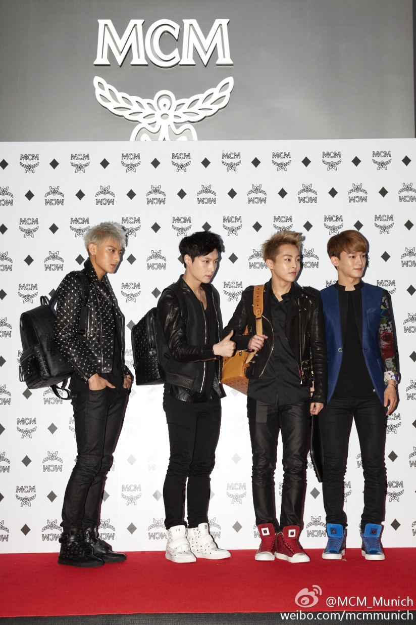[140626] EXO @ MCM Flagship Store Open Event [3]