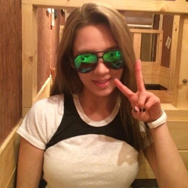 [140627] Hyoyeon (SNSD) New Selca via xris_mas's Instagram [1]