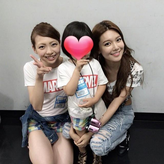 [140629] Sooyoung (SNSD) New Selca with Marina via Marina's Instagram
