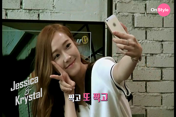 [140701] Jessica (SNSD) & Krystal (F(x)) New Capture Picture from Jessica&Krystal Show EP05 [1]