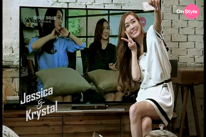 [140701] Jessica (SNSD) & Krystal (F(x)) New Capture Picture from Jessica&Krystal Show EP05 [2]