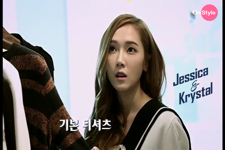 [140701] Jessica (SNSD) & Krystal (F(x)) New Capture Picture from Jessica&Krystal Show EP05 [8]