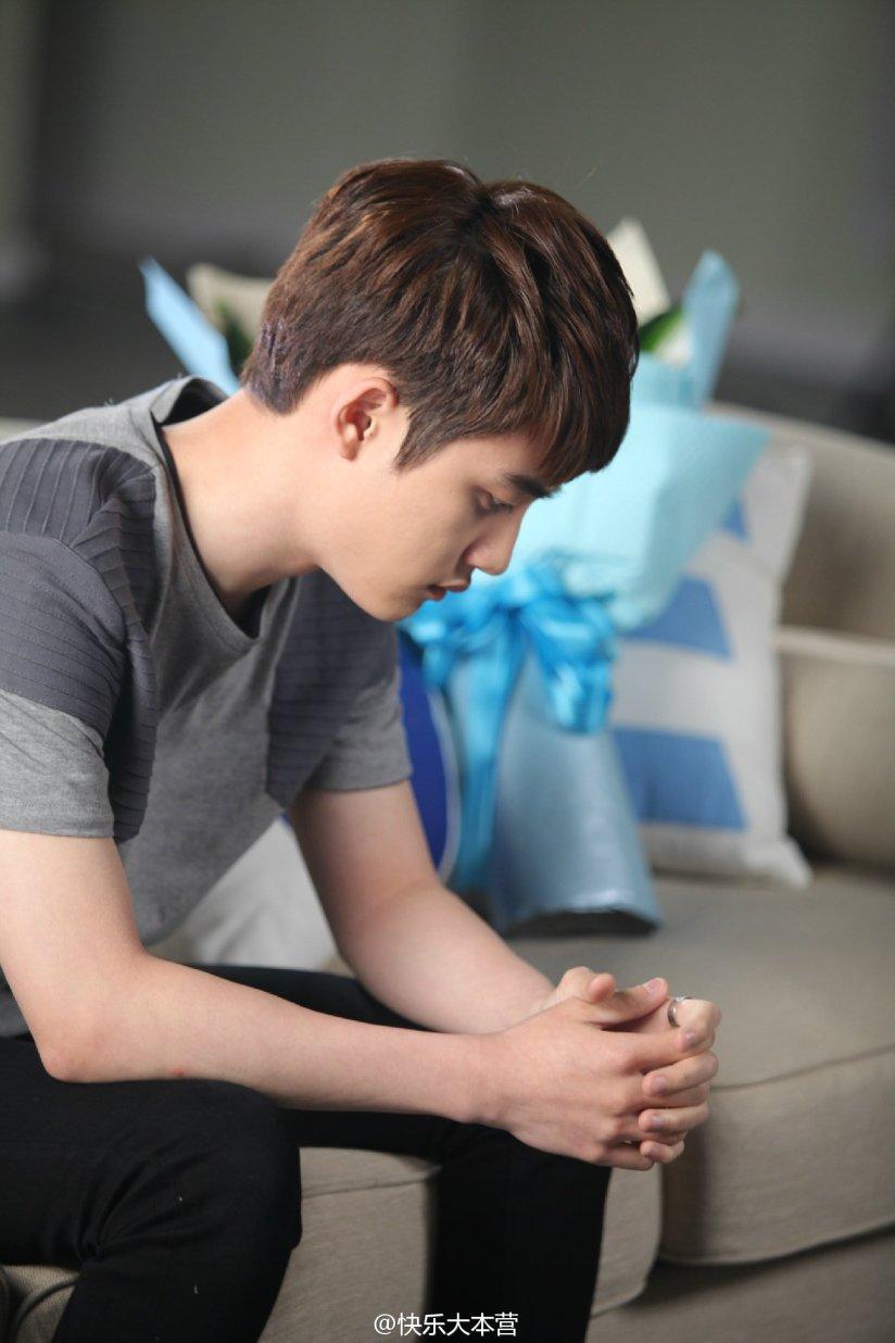 [140702] D.O (EXO) New Picture for 快乐大本营 via 快乐大本营's Weibo [1]