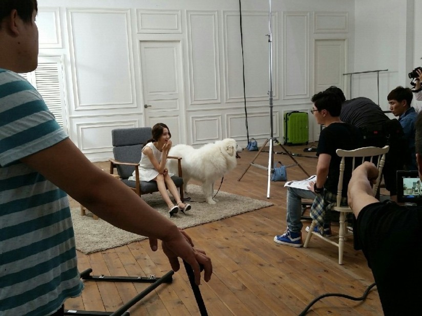 [140703] Yoona (SNSD) New BTS Picture for Innisfree CF via Petsasfamily's Cafe Naver [4]