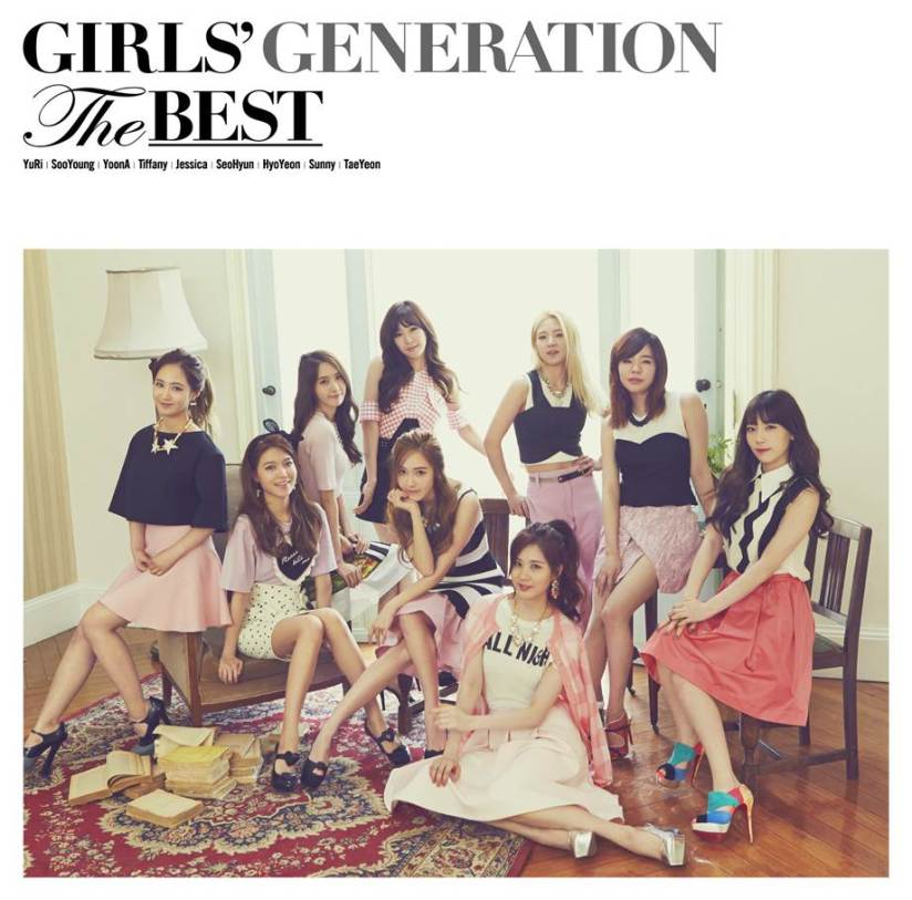 [140704] Girls' Generation (SNSD) New Picture for THE BEST (The Best Japanese Album Cover Type F) via Girls' Generation Official Website [1]