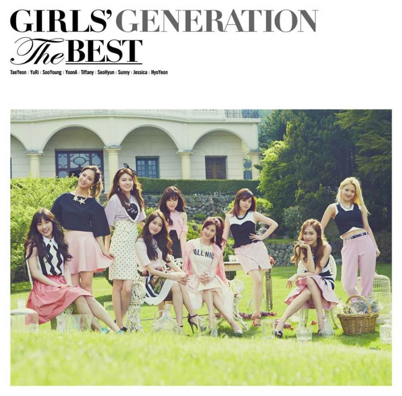 [140704] Girls' Generation (SNSD) New Picture for THE BEST (The Best Japanese Album Cover Type F) via Girls' Generation Official Website [2]