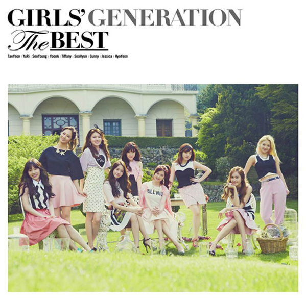 [140704]  Girls' Generation (SNSD) New Picture for 'THE BEST' (The Best Japanese Album) via famima [3a]