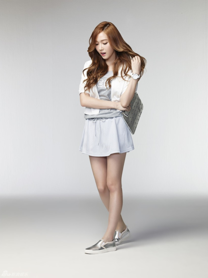 [140704] Jessica (SNSD) New Picture for Li-Ning CF by Sina.com [2]