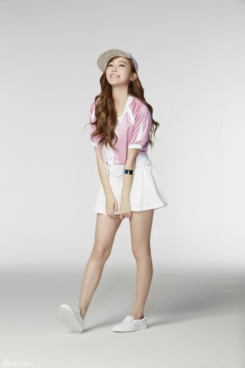 [140704] Jessica (SNSD) New Picture for Li-Ning CF by Sina.com [3]