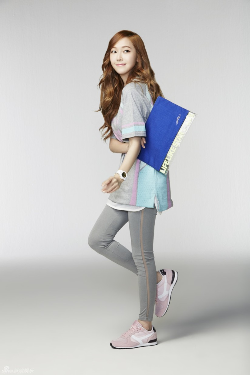 [140704] Jessica (SNSD) New Picture for Li-Ning CF by Sina.com [4]