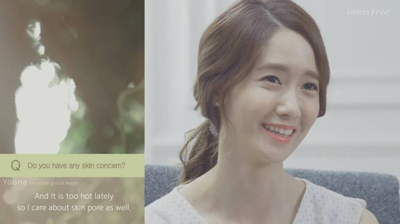 [140704] Yoona (SNSD) New Capture Video from Innisfree CF [11]