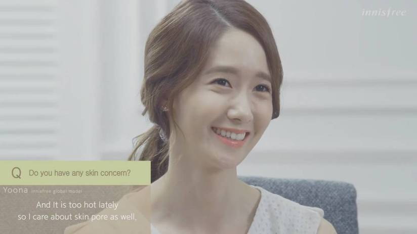 [140704] Yoona (SNSD) New Capture Video from Innisfree CF [12]