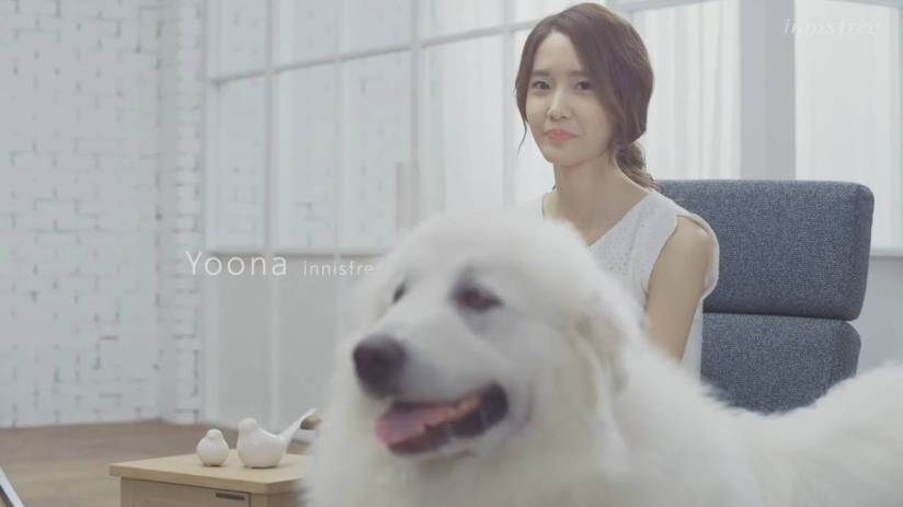 [140704] Yoona (SNSD) New Capture Video from Innisfree CF [2]