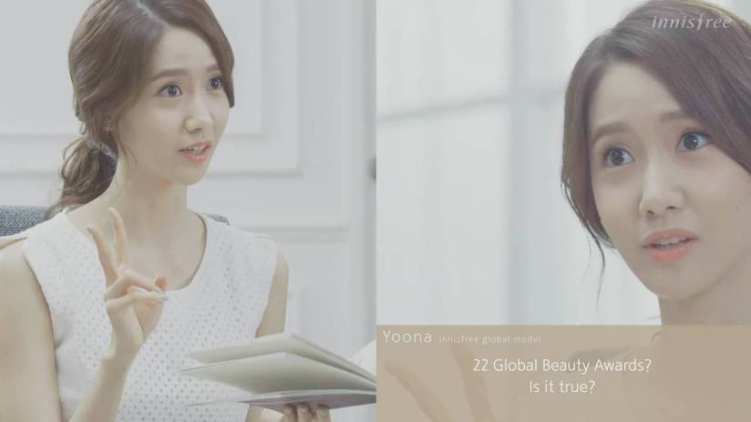 [140704] Yoona (SNSD) New Capture Video from Innisfree CF [22]